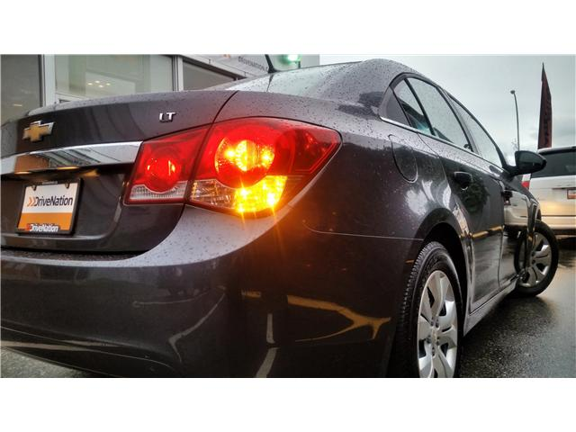 2013 Chevrolet Cruze LT Turbo (Stk: G0082A) in Abbotsford - Image 5 of 19
