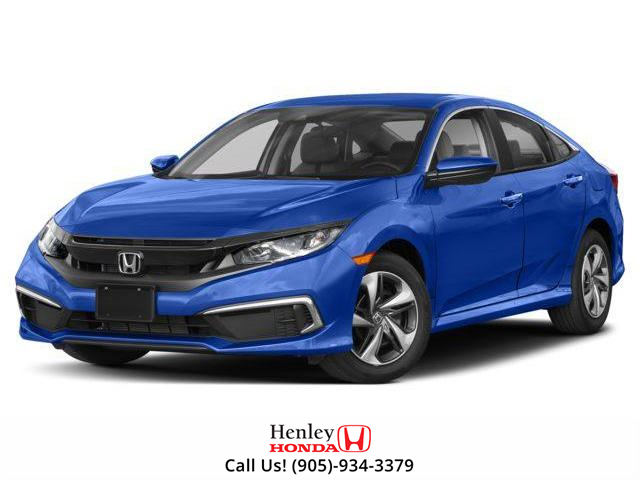 2019 Honda Civic LX (Stk: H17802) in St. Catharines - Image 1 of 9