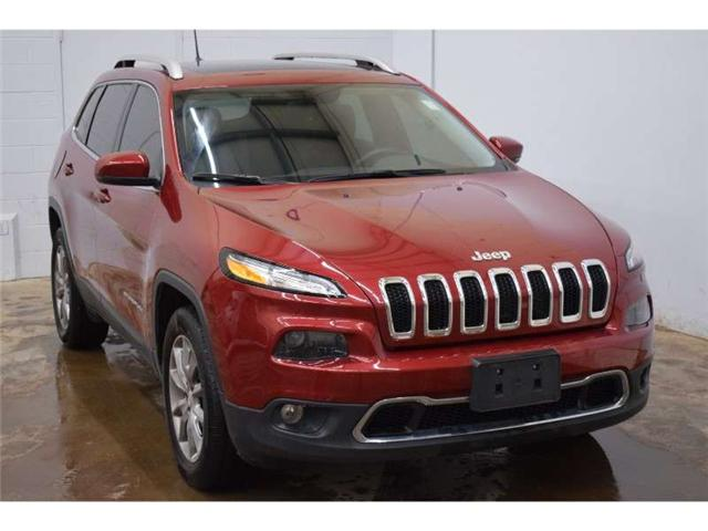 2017 Jeep Cherokee Limited 4x4 - NAV * BACKUP CAM * PANORAMIC SUNROOF (Stk: B3038) in Kingston - Image 2 of 30
