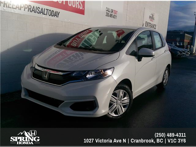 2019 Honda Fit LX (Stk: H01148) in North Cranbrook - Image 1 of 6
