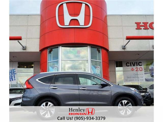 2016 Honda CR-V Touring FULLY LOADED (Stk: B0803) in St. Catharines - Image 1 of 30
