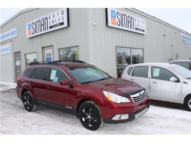 2011 Subaru Outback 2.5 i Sport Package (Stk: PZ1568) in Regina - Image 1 of 16