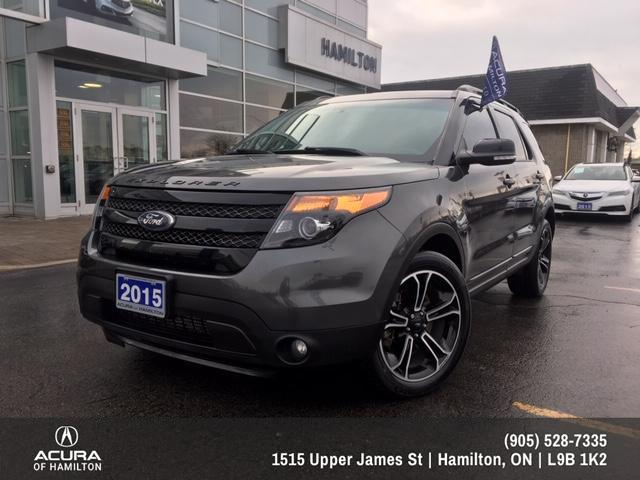 2015 Ford Explorer Sport (Stk: 1512451) in Hamilton - Image 1 of 26