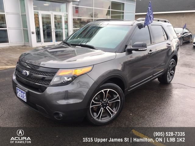 2015 Ford Explorer Sport (Stk: 1512451) in Hamilton - Image 2 of 26