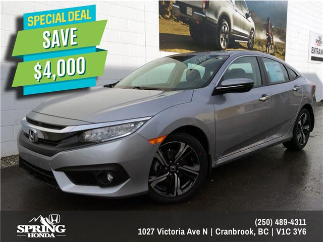 2018 Honda Civic Touring (Stk: H01445) in North Cranbrook - Image 1 of 20