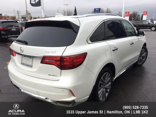 2017 Acura MDX Elite Package (Stk: 1712910) in Hamilton - Image 5 of 28