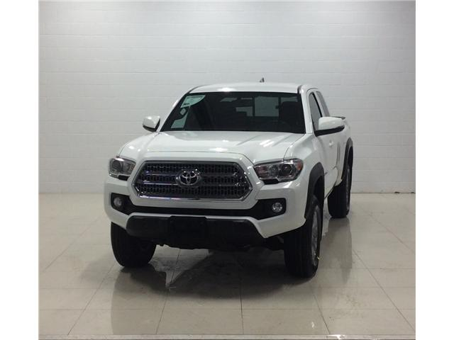 2017 Toyota Tacoma SR5 (Stk: T19049A) in Sault Ste. Marie - Image 1 of 12