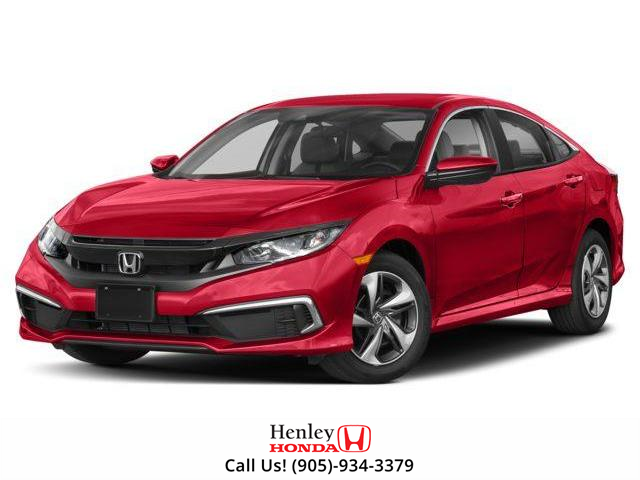 2019 Honda Civic LX (Stk: H17825) in St. Catharines - Image 1 of 9