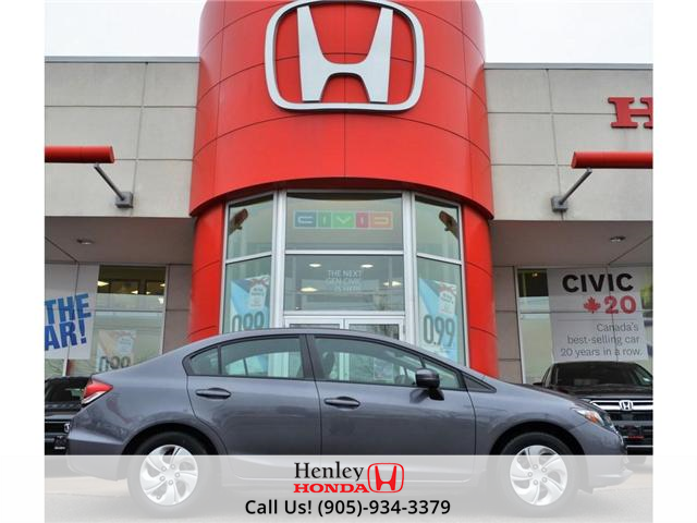 2014 Honda Civic Ex Sunroof Alloy Wheels At 12900 For Sale In St