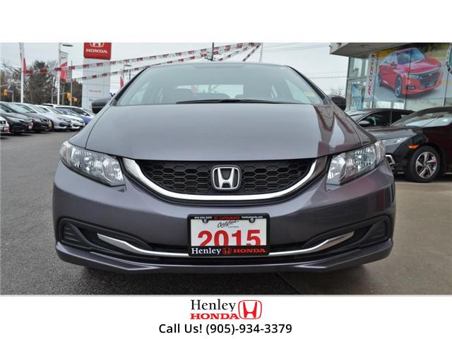 2015 Honda Civic LX BLUETOOTH HEATED SEATS (Stk: R9289) in St. Catharines - Image 3 of 25