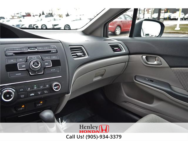 2015 Honda Civic LX BLUETOOTH HEATED SEATS (Stk: R9289) in St. Catharines - Image 9 of 25