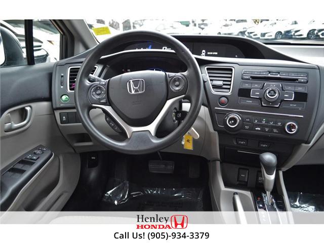 2015 Honda Civic LX BLUETOOTH HEATED SEATS (Stk: R9289) in St. Catharines - Image 12 of 25