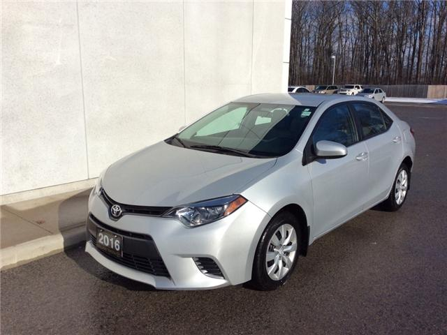 2016 Toyota Corolla LE (Stk: P3330) in Welland - Image 1 of 21