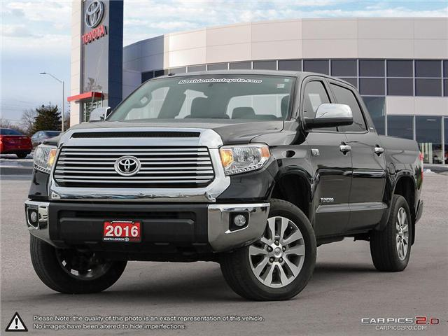 2016 Toyota Tundra Limited 5.7L V8 (Stk: U10923) in London - Image 1 of 27