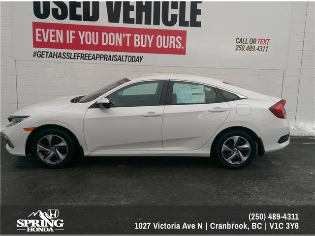 2019 Honda Civic LX (Stk: H09032) in North Cranbrook - Image 2 of 6