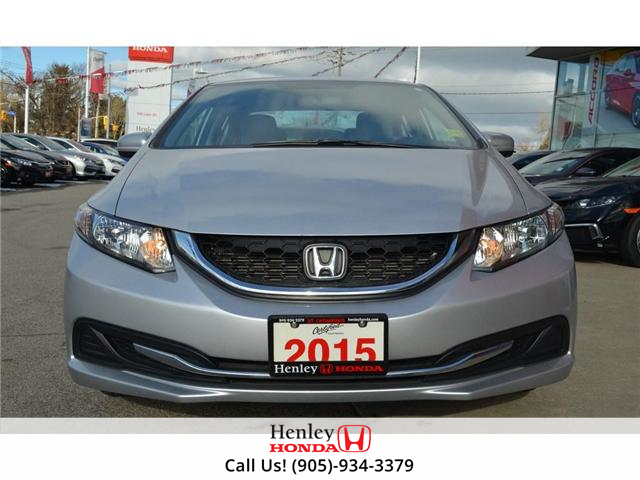 2015 Honda Civic LX 1 OWNER, NO ACCIDENTS, BLUETOOTH (Stk: R9292) in St. Catharines - Image 3 of 24
