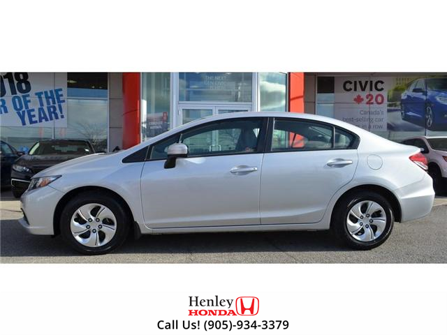2015 Honda Civic LX 1 OWNER, NO ACCIDENTS, BLUETOOTH (Stk: R9292) in St. Catharines - Image 5 of 24
