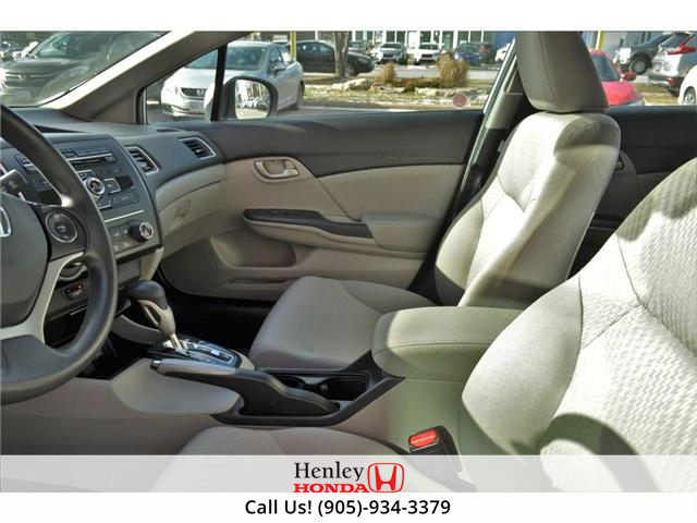2015 Honda Civic LX 1 OWNER, NO ACCIDENTS, BLUETOOTH (Stk: R9292) in St. Catharines - Image 8 of 24