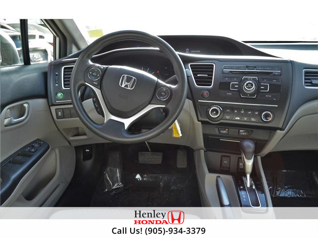 2015 Honda Civic LX 1 OWNER, NO ACCIDENTS, BLUETOOTH (Stk: R9292) in St. Catharines - Image 12 of 24