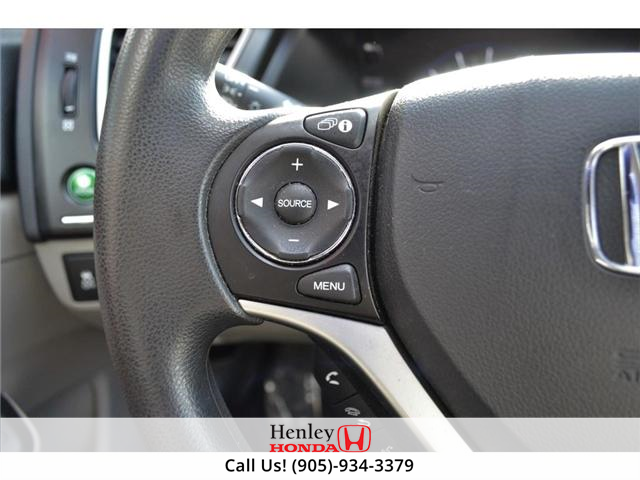 2015 Honda Civic LX 1 OWNER, NO ACCIDENTS, BLUETOOTH (Stk: R9292) in St. Catharines - Image 14 of 24