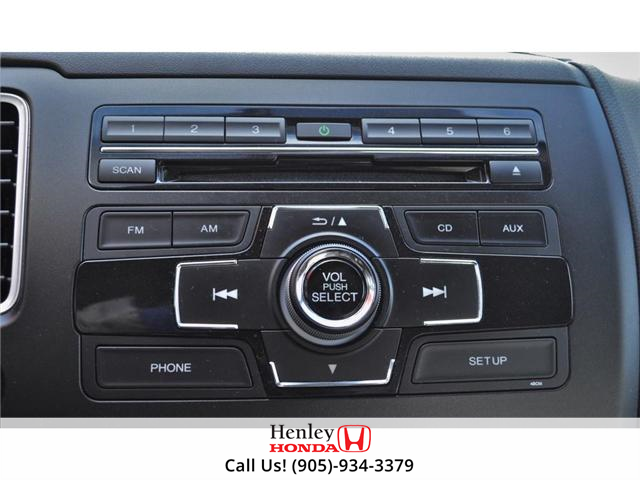 2015 Honda Civic LX 1 OWNER, NO ACCIDENTS, BLUETOOTH (Stk: R9292) in St. Catharines - Image 20 of 24