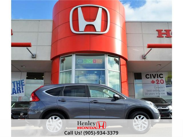 2015 Honda CR-V EX SUNROOF ALLOY WHEELS BLUETOOTH BACK UP (Stk: B0812) in St. Catharines - Image 1 of 25