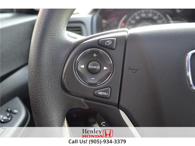2015 Honda CR-V EX SUNROOF ALLOY WHEELS BLUETOOTH BACK UP (Stk: B0812) in St. Catharines - Image 14 of 25