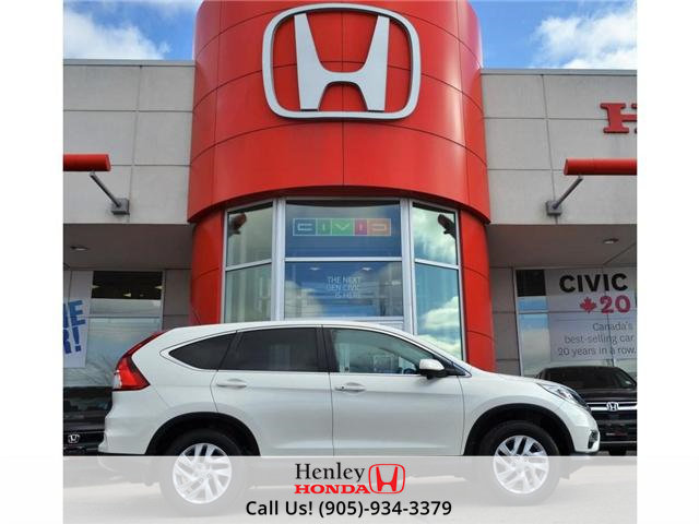 2016 Honda CR-V EX SUNROOF ALLOY WHEELS BLUETOOTH BACK UP (Stk: R9293) in St. Catharines - Image 1 of 28