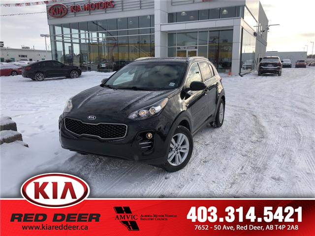 2017 Kia Sportage LX (Stk: 9SR3784B) in Red Deer - Image 1 of 12