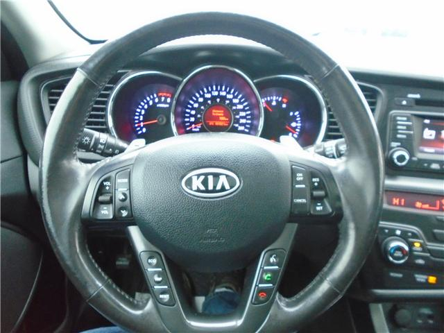 2012 Kia Optima EX Turbo + (Stk: 9SP1088A) in Cranbrook - Image 11 of 14
