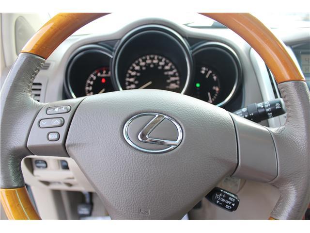 2004 Lexus RX 330 Base (Stk: PT1598) in Regina - Image 11 of 19
