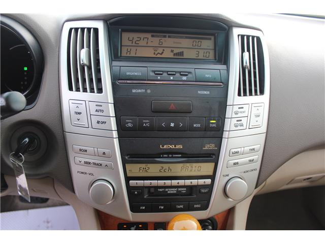 2004 Lexus RX 330 Base (Stk: PT1598) in Regina - Image 15 of 19