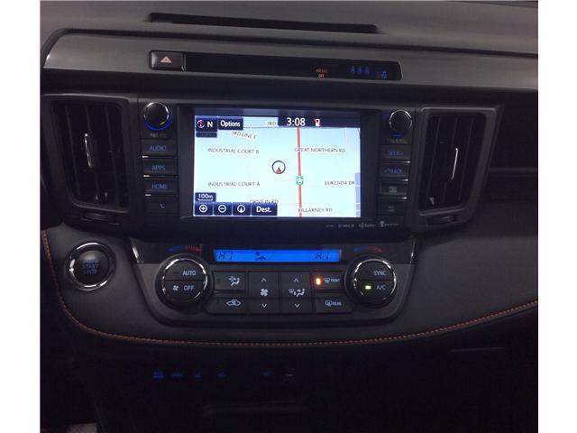 2018 Toyota RAV4 SE (Stk: H19030A) in Sault Ste. Marie - Image 10 of 12