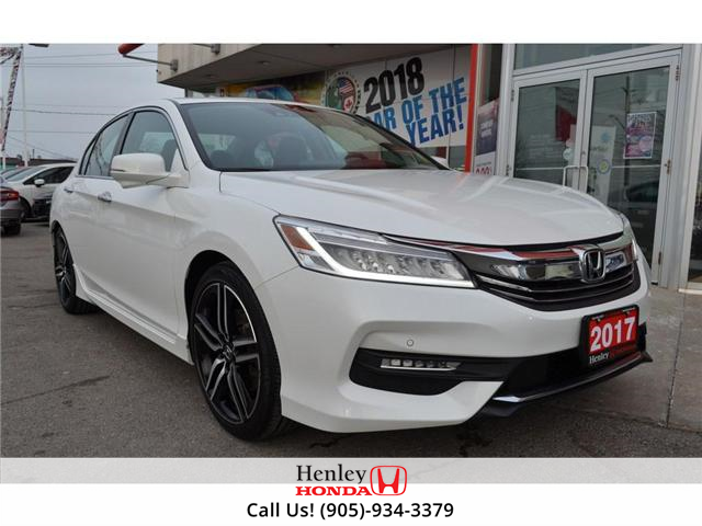 2017 Honda Accord Touring LEATHER NAVIGATION HEATED SEATS BLUETOOTH (Stk: R9294) in St. Catharines - Image 2 of 29