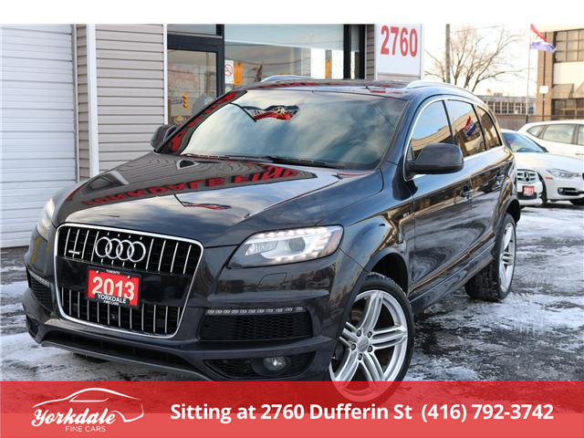 2013 Audi Q7 3.0T (Stk: D2199) in North York - Image 1 of 27