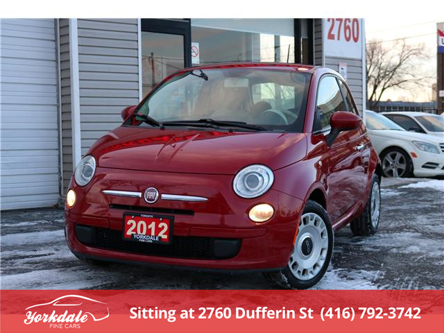 2012 Fiat 500 Pop (Stk: ) in North York - Image 1 of 21