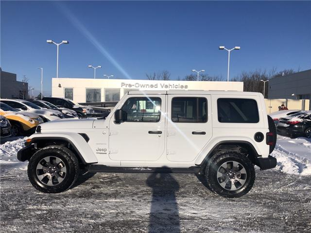 2018 Jeep Wrangler Unlimited Sahara (Stk: 5180371) in London - Image 2 of 19