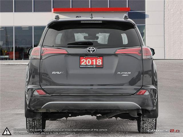 2018 Toyota RAV4 Limited (Stk: U10959) in London - Image 5 of 27