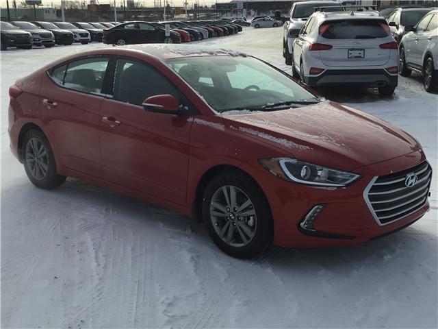 2018 Hyundai Elantra GL KMHD84LFXJU639932 B7182 in Saskatoon