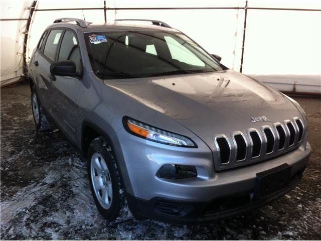 2017 Jeep Cherokee Sport (Stk: A8136B) in Ottawa - Image 1 of 22