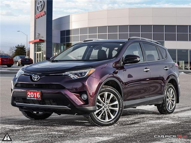 2016 Toyota RAV4 Limited (Stk: A219244) in London - Image 1 of 27