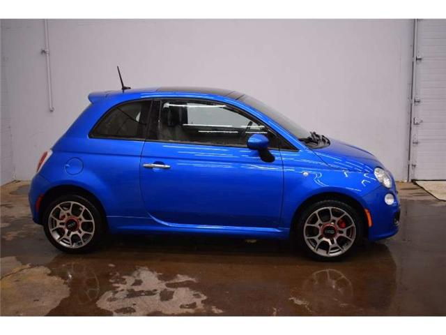 2015 Fiat 500 SPORT - HEATED SEATS * LEATHER * SUNROOF (Stk: B2702AB) in Kingston - Image 1 of 30