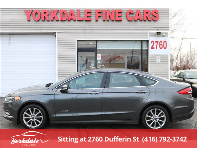 2017 Ford Fusion Hybrid SE (Stk: S2541) in North York - Image 2 of 22