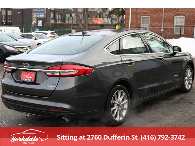2017 Ford Fusion Hybrid SE (Stk: S2541) in North York - Image 5 of 22