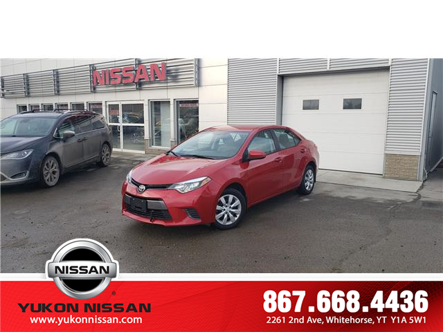 2015 Toyota Corolla LE (Stk: P1051) in Whitehorse - Image 1 of 10