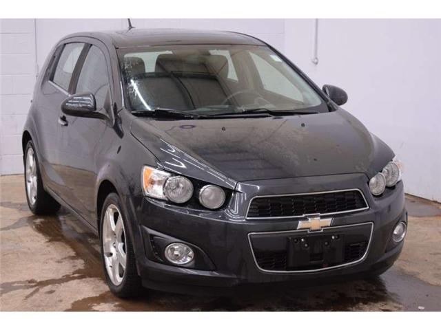 2014 Chevrolet Sonic LT - HEATED SEATS * SUNROOF * SAT RADIO  (Stk: B3196) in Napanee - Image 2 of 30