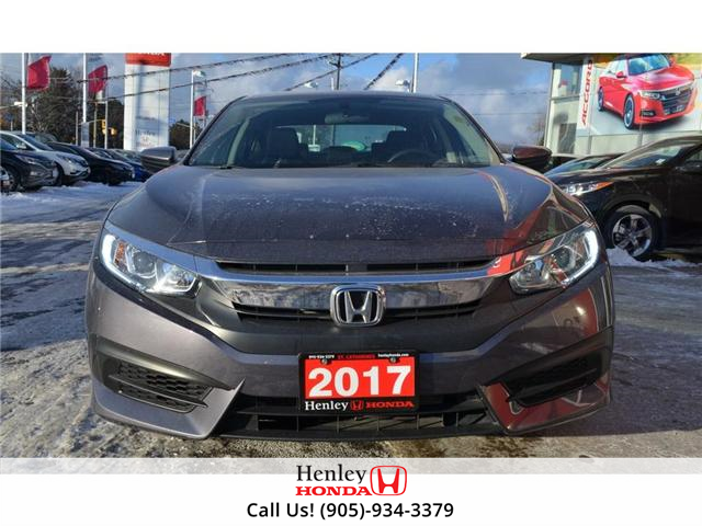 2017 Honda Civic LX BLUETOOTH HEATED SEATS BACK UP CAMERA (Stk: R9300) in St. Catharines - Image 3 of 17