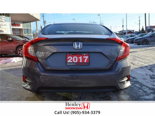 2017 Honda Civic LX BLUETOOTH HEATED SEATS BACK UP CAMERA (Stk: R9300) in St. Catharines - Image 4 of 17