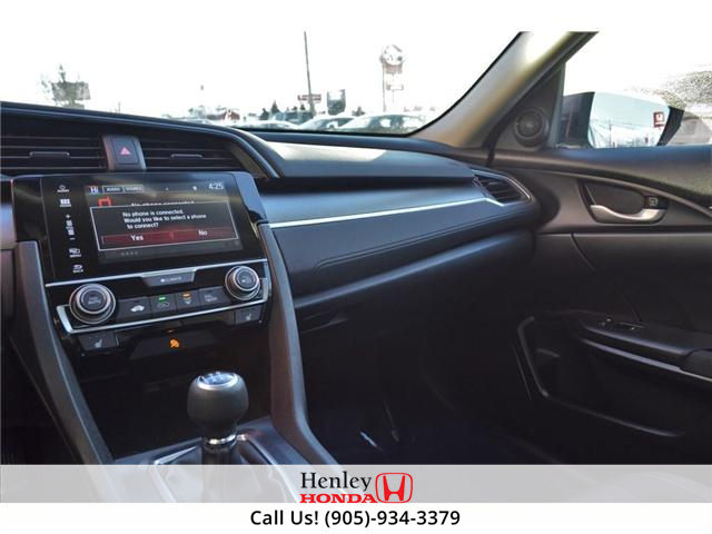 2017 Honda Civic LX BLUETOOTH HEATED SEATS BACK UP CAMERA (Stk: R9300) in St. Catharines - Image 7 of 17