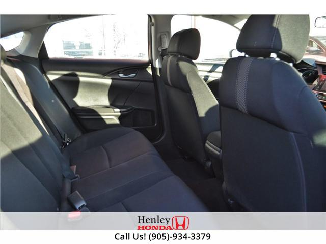 2017 Honda Civic LX BLUETOOTH HEATED SEATS BACK UP CAMERA (Stk: R9300) in St. Catharines - Image 8 of 17